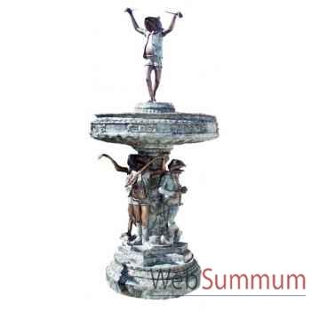 Fontaine à étage en bronze -BRZ865