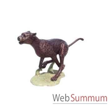 Léopard en bronze -BRZ147