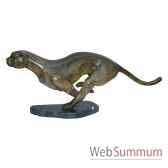 leopard en bronze brz1261