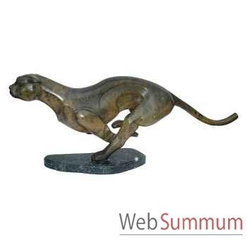 Léopard en bronze -BRZ1261