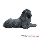 lion en bronze brz221