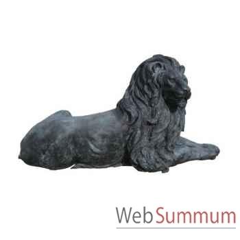 Lion en bronze -BRZ221