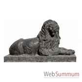 lion en bronze brz357