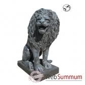 lion en bronze brz410