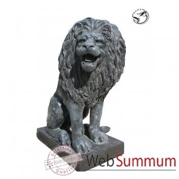 Lion en bronze -BRZ410
