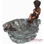 fontaine vasque en bronze brz119