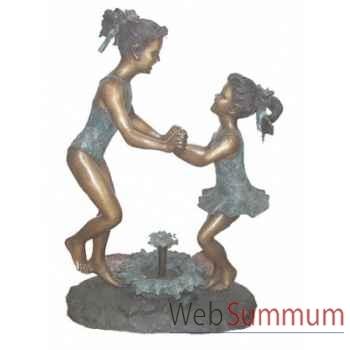 Fontaine à bassin en bronze -BRZ509