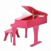 piano a queue rose hape e0319