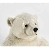 anima peluche ours polaire assis 100 cm 1832