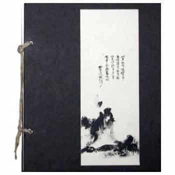 Méditation asiatique, Cahier Zen Paysage - CZ002