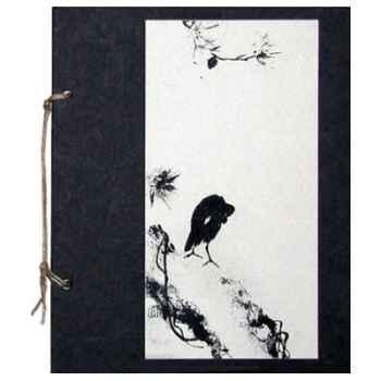 Méditation asiatique, Cahier Zen Corbeau - CZ008