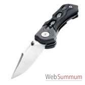 leatherman 830436 couteau modele h502x lame droite couteau ferme 1143 cm etui en nylon garantie 25 ans