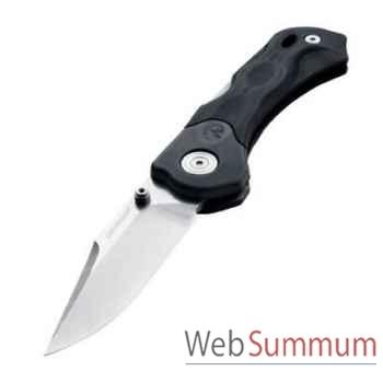 LEATHERMAN-830378-Couteau modèle h500, lame droite, couteau fermé 7,87 cm, étui en nylon, garantie 25 ans.