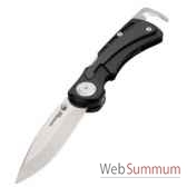 leatherman 830637 couteau grande chasse modele nehalem cm 154 lame repliable etui en nylon garantie 25 ans
