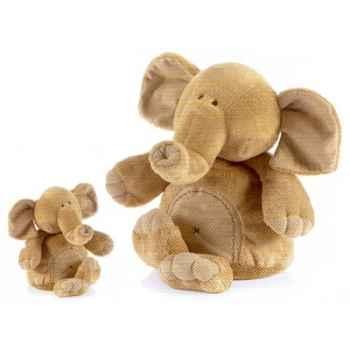 Peluche Animadoo éléphant - Animaux 7056