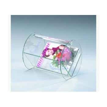 Porte-revues Marais en verre recuit -CVR1