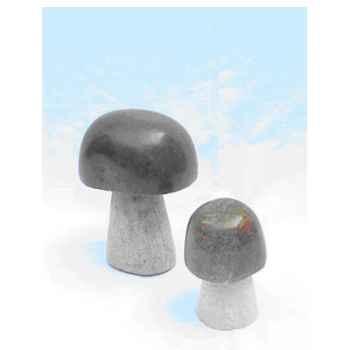 Sculpture champignon en pierre Terre Sauvage -STMS03