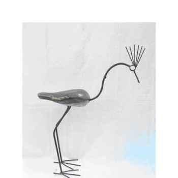 Sculpture oiseau en pierre Terre Sauvage -MA48