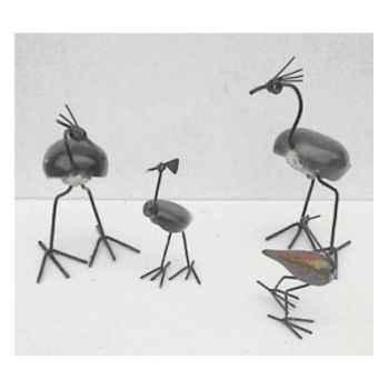 Sculpture oiseau en pierre Terre Sauvage -STOST02