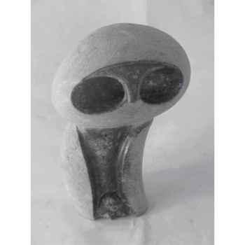 Sculpture chouette en pierre Terre Sauvage -STOW01
