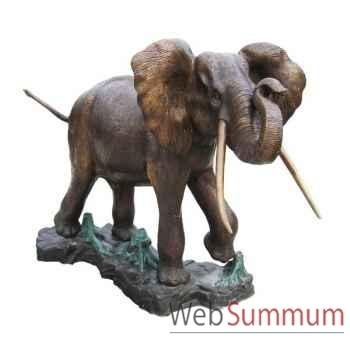 Eléphant en bronze -BRZ276