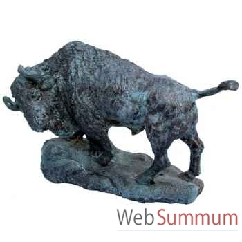 Bison en bronze -BRZ1239