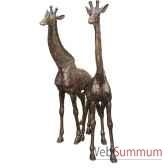 girafe en bronze brz1159