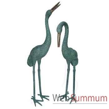 Heron en bronze -BRZ1228V-89