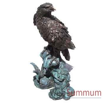 Aigle en bronze -BRZ473