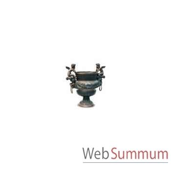 Vase de jardin en bronze -BRZ135