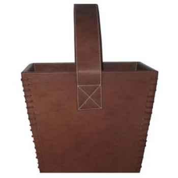 Porte-revues en cuir SolxLuna avec poignée -PN938