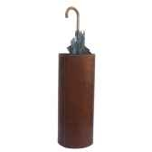 porte parapluie en cuir solxluna pn976