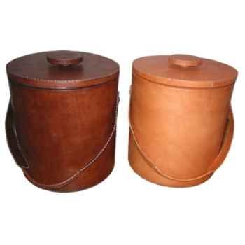 Grand seau à glaçons en cuir SolxLuna GM -PN924