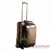 valise cabine trolley canvas cuir baron en toile et cuir 4039 02