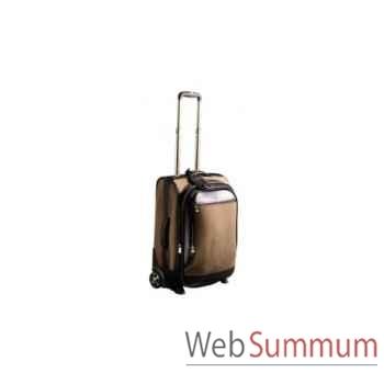Valise cabine Trolley Canvas & Cuir Baron en toile et cuir -4039-02
