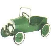 voiture a pedales proto verte 1939