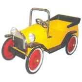 voiture a pedales proto jaune 1935