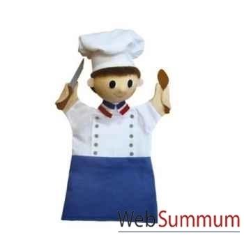 Marionnette Chef cuisinier Anima Scéna 22584A