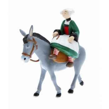 Collection becassine figurine becassine à dos de mulet Figurine Plastoy 61013