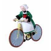 collection becassine figurine becassine a bicyclette figurine plastoy 61016