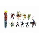 collection les tubos tubo samourais et et ninjas figurine plastoy 70373