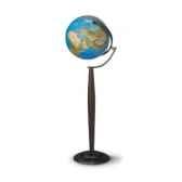 globe boule bleue lumineuse