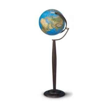 Globe Boule bleue lumineuse.