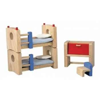 Chambre d'enfants neo jouet en bois plantoys 7304
