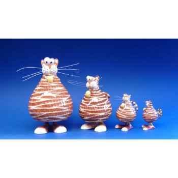 Figurine animal antics chat (mini) - rr45052