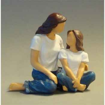 Figurine blue jeans the bond  - bj18403
