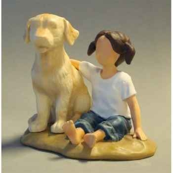 Figurine blue jeans faithful friends - bj18404