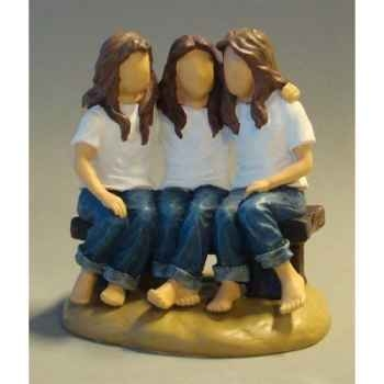 Figurine blue jeans best friends forever - bj18408