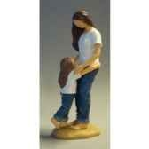 figurine blue jeans mother s love bj18423