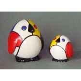 figurine menagerie geometrique pingouins meg01